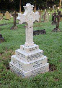 Lance Cpl. George Robert Ingle's headstone after restoration