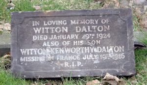 Private Witton Kenworthy Dalton